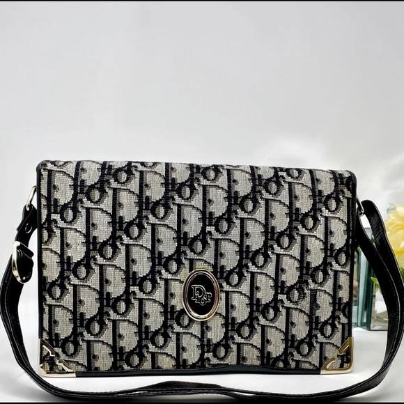 Dior Handbags - SOLD Dior Oblique Trotter Hand Bag